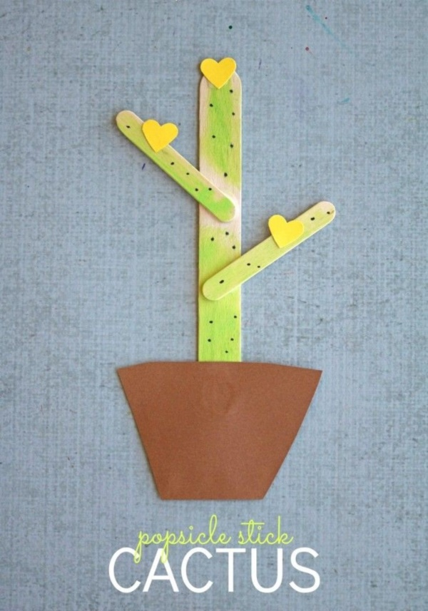 40 So Easy Popsicle Stick Crafts For Kids