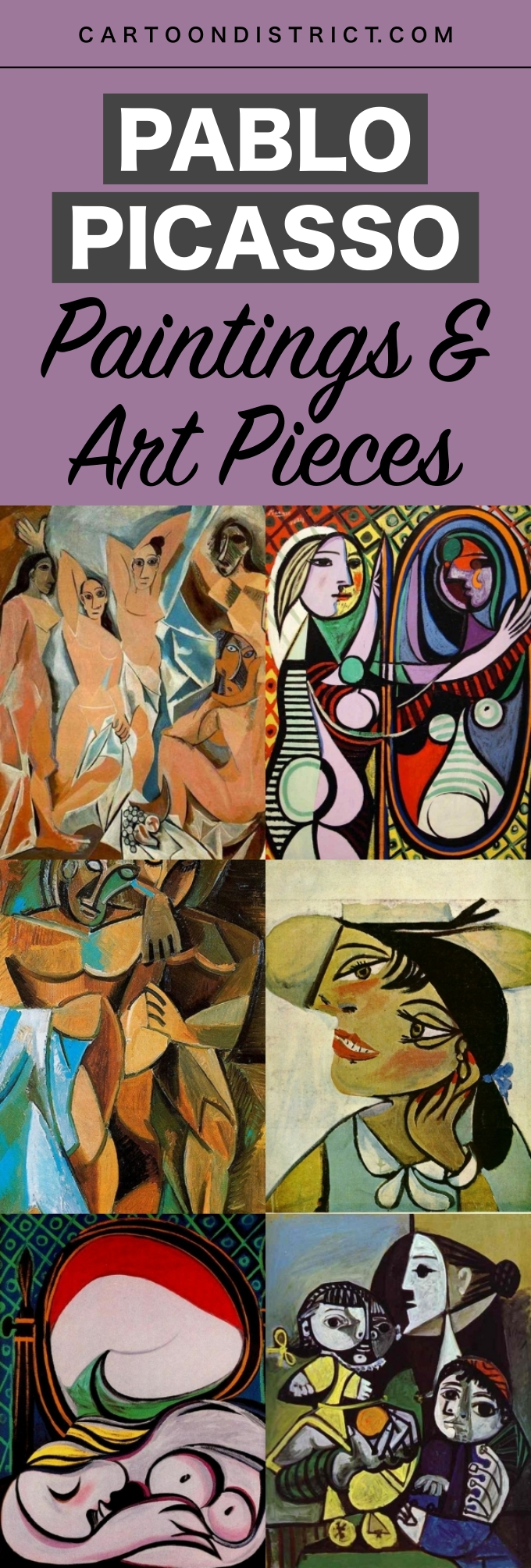 Famous Pablo Picasso Paintings and Art Pieces