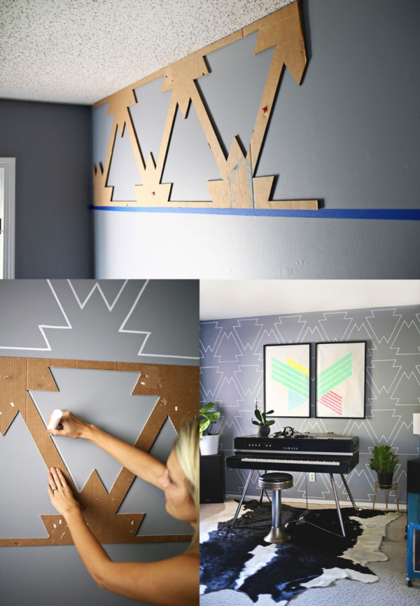 30 Interesting Ways To Paint Your Walls