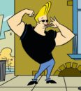 names of cartoon characters with big heads: Jonny Bravo