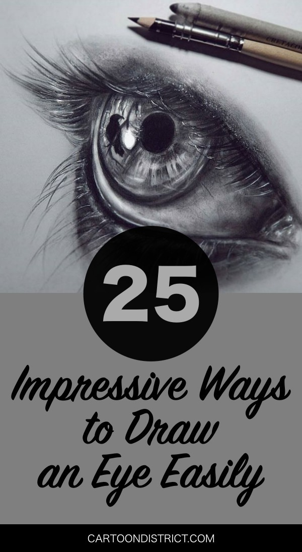 Impressive Ways to Draw an Eye Easily