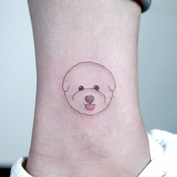 Cute Dog Tattoo Designs