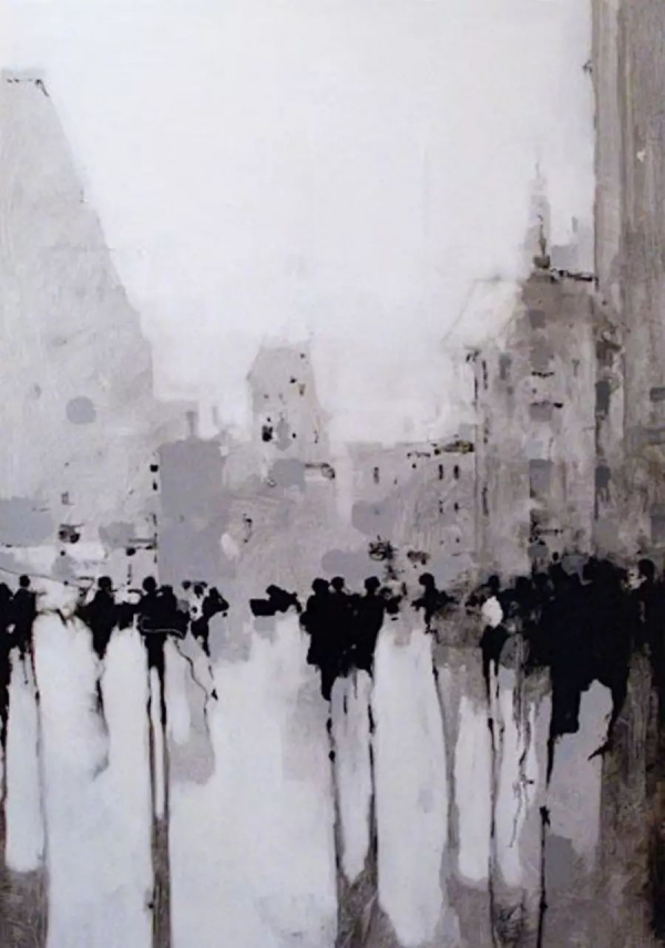 Black And White Painting Ideas On Canvas