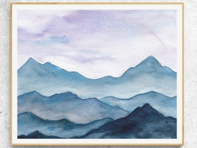 Easy Watercolor Landscape Painting Ideas