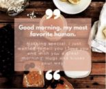 How to Say 'Good Morning' to One You Love
