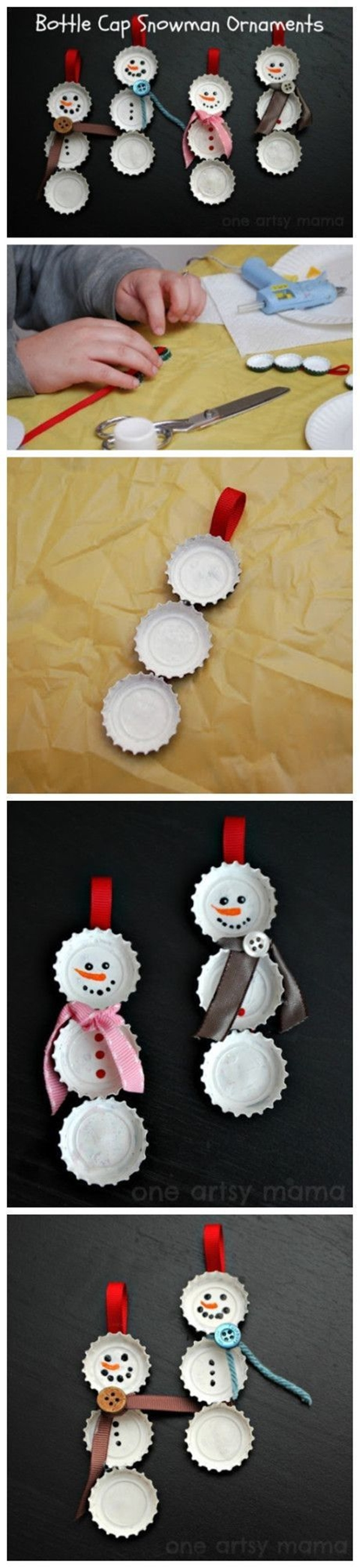 40 Brilliant DIY Snowman Crafts Ideas for Amazing Winter
