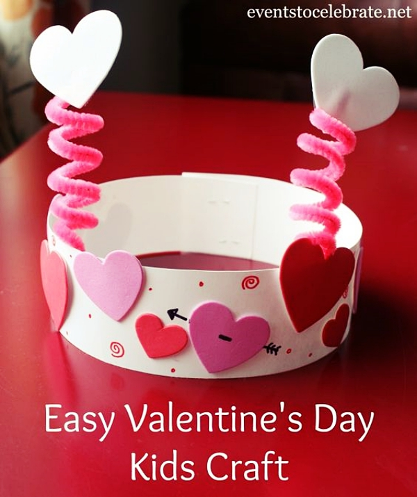 Homemade Valentine S Day Art Craft Ideas 4 Cartoon District