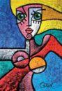 Beautiful Women Painting Ideas
