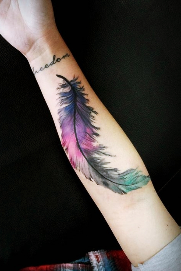 Cute-Watercolor-Tattoo-Designs-and-Ideas-For-Temporary-Use