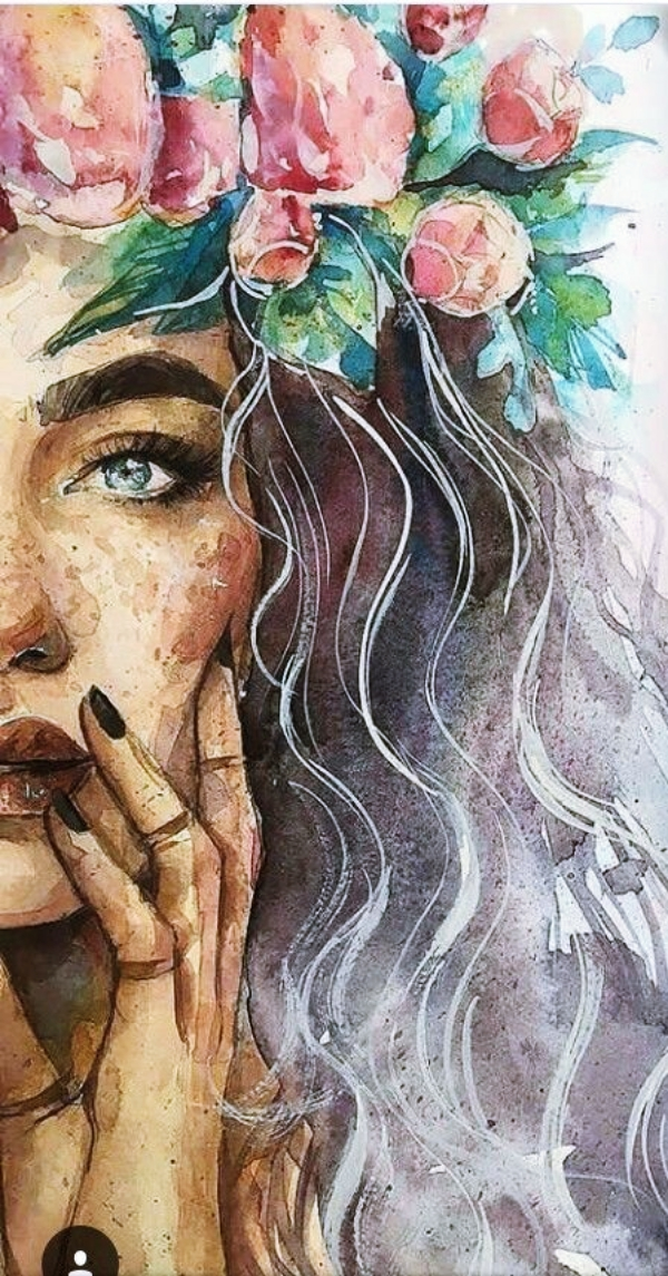 Watercolor-Portrait-Illustrations-and-Paintings