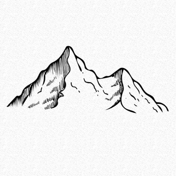 How to Draw Landscape Objects: Mountains, Clouds, Rivers