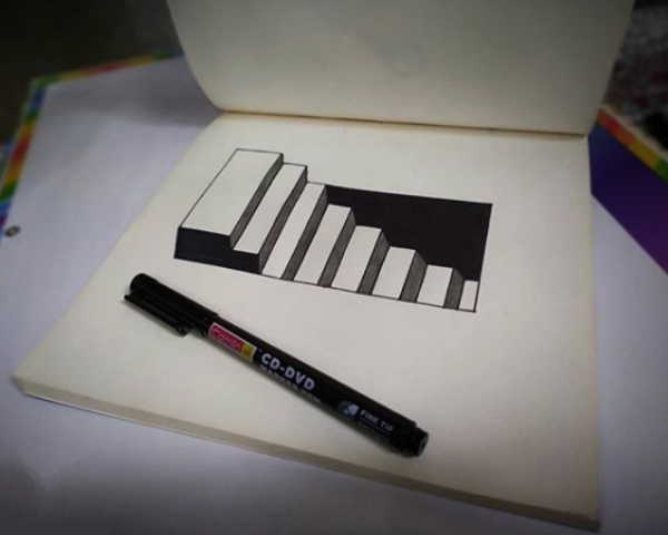 Easy 3D Drawing Ideas