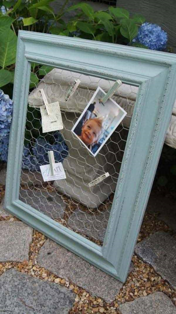 Creative-Crafts-Ideas-using-Old-Picture-frames