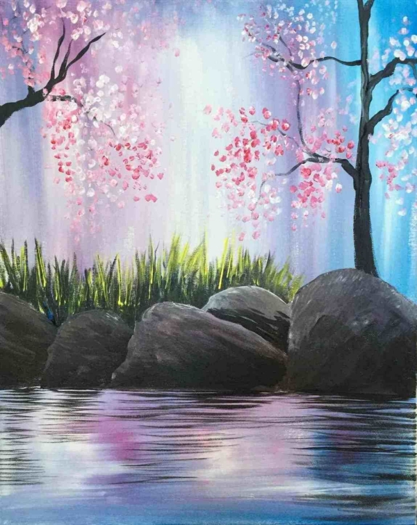 Easy Acrylic Landscape Painting Ideas for Beginners