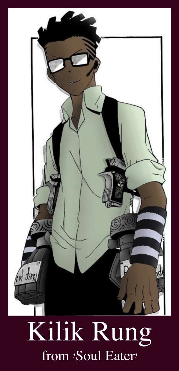 Black Anime Characters Male