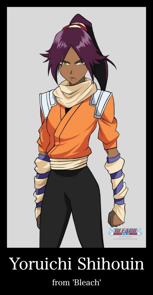 Black female Anime characters