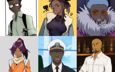 Most Popular Black Anime Characters