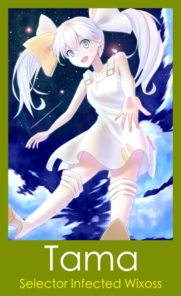 Female Anime characters with white hair