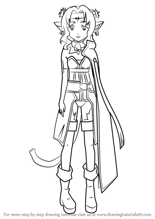 Sword Art Online Drawing