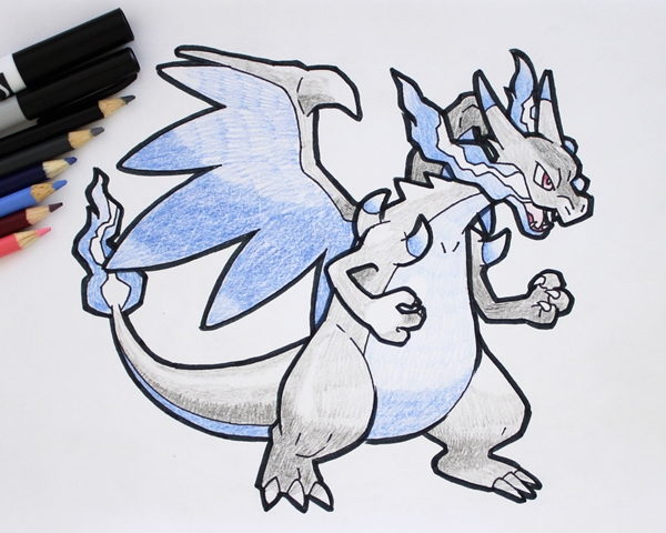Charizard Drawing Easy